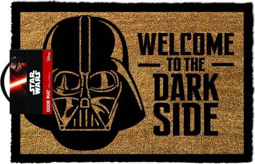 Le paillasson pour accueillir vos invités du Côté Obscur de la Force (19,99 euros)