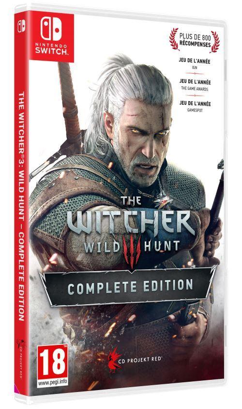 ... vous pouvez découvrir l'incroyable jeu The Witcher 3 sur Nintendo Switch