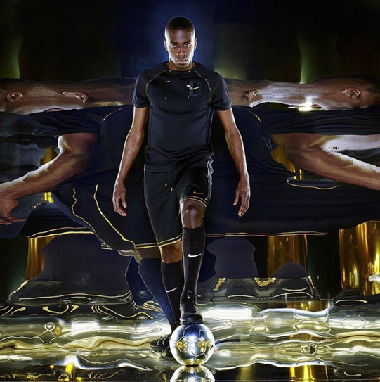 Blaise Matuidi est le visage de la collection NikeLab X Olivier Rousteing