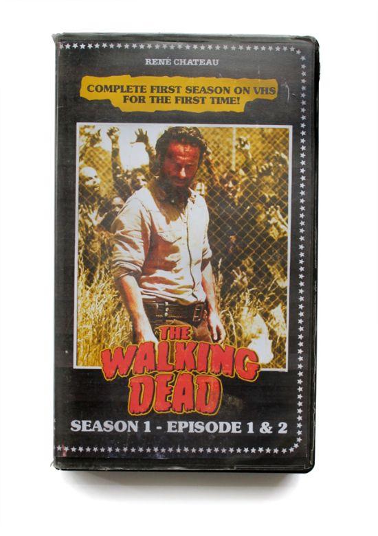 """La série horrifique """"The Walking Dead"""""""
