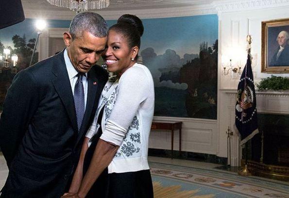 """Beyoncé remercie le couple Obama à leur départ de la Maison Blanche, 3,7 millions de """"j'aime"""""""