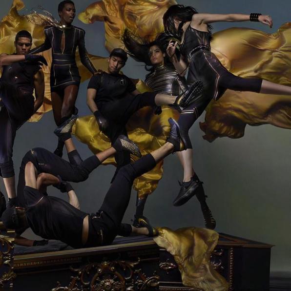 Campagne de publicité de la collection NikeLab X Olivier Rousteing