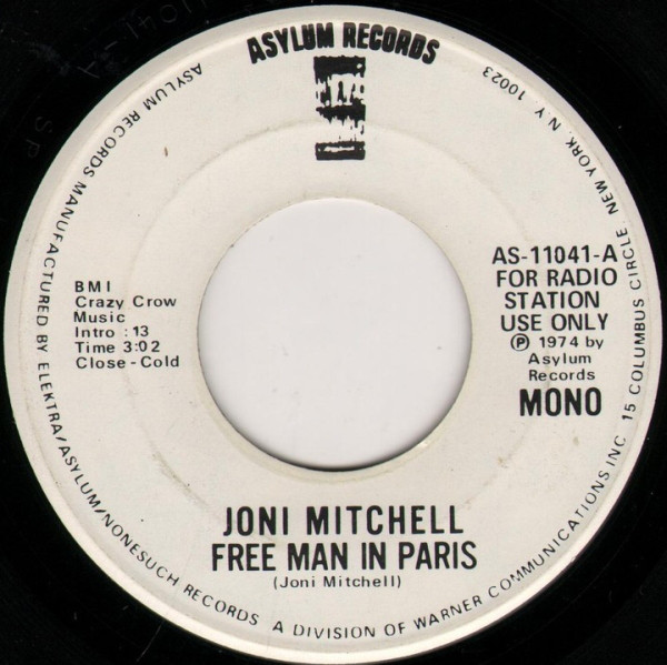 Free man in paris - JONI MITCHELL
