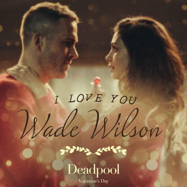 Wade Wilson et sa compagne pour la Saint-Valentin