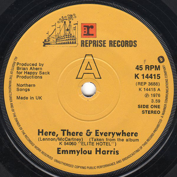 Here there and everywhere - Emmylou HARRIS