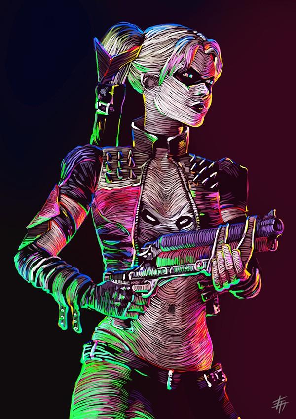 Harley Quinn, un personnage de l'univers Batman
