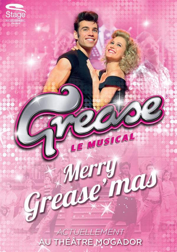 """La comédie musicale """"Grease"""" sera votre coup de fouet et de bonne humeur pour 2018. Places dès 25 € au Théâtre Mogador"""