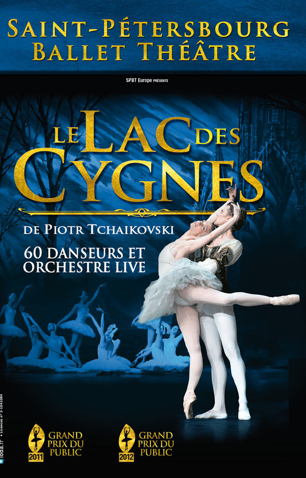 Le corps de ballet de Saint-Pétersbourg va tourner dans la France entière pour présenter les grands classiques de Tchaïkovski (à partir de 36 euros la place)