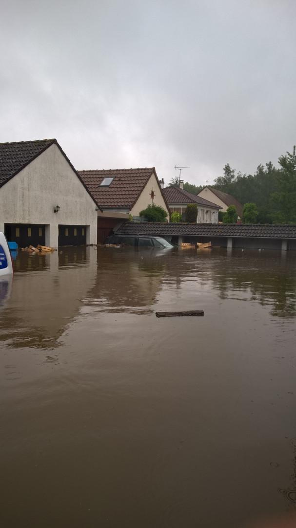 Le village de Checy, à proximité d'Orléans (Loiret)