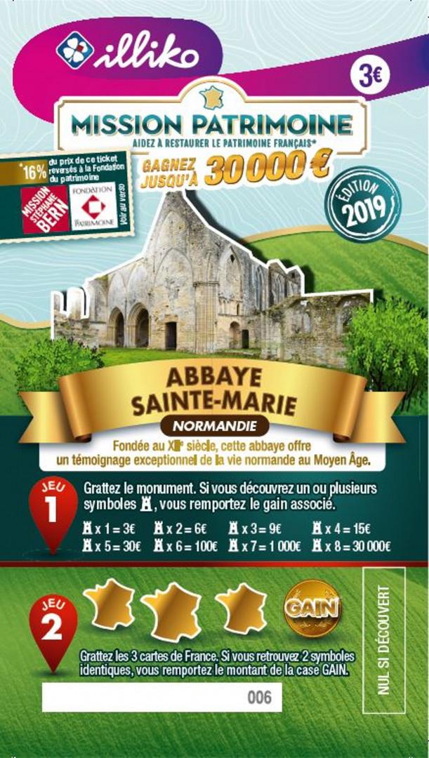 Ticket Abbaye Sainte-Marie en Normandie. Fondée au XIIème siècle, cette abbaye offre un témoignage exceptionnel de la vie normande au Moyen-Âge.