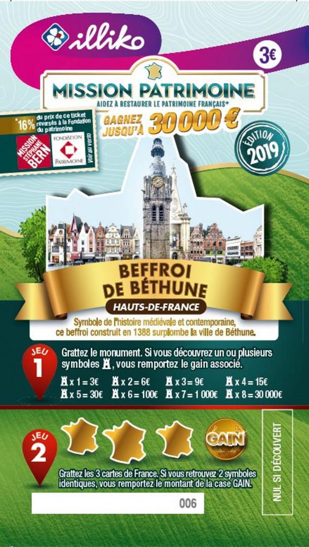 Ticket Beffroi de Béthune dans les Hauts-de-France. Symbole de l'histoire médiévale et contemporaine, ce beffroi construit en 1388 surplombe la ville de Béthune.