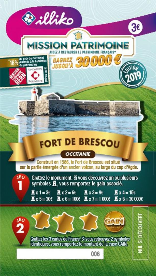Ticket Fort de Brescou en Occitanie. Construit en 1586, le Fort de Brescou est situé sur la partie émergée d'un ancien volcan, au large du cap d'Agde.