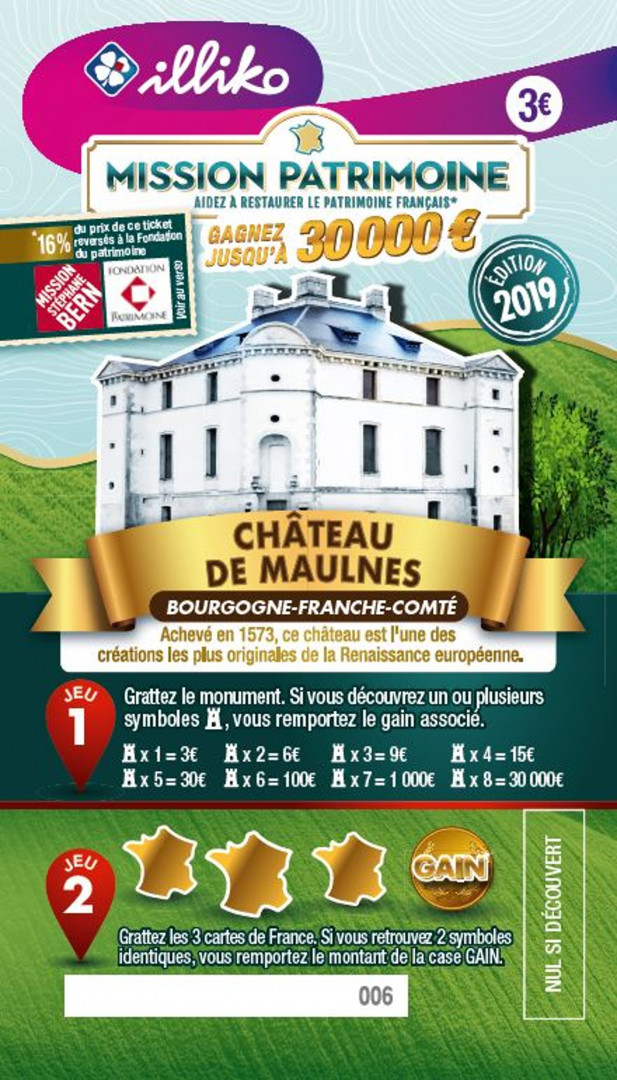 Ticket Château de Maulnes en Bourgogne-Franche-Comté. Achevé en 1573, ce château est l'une des créations les plus originales de la Renaissance européenne.