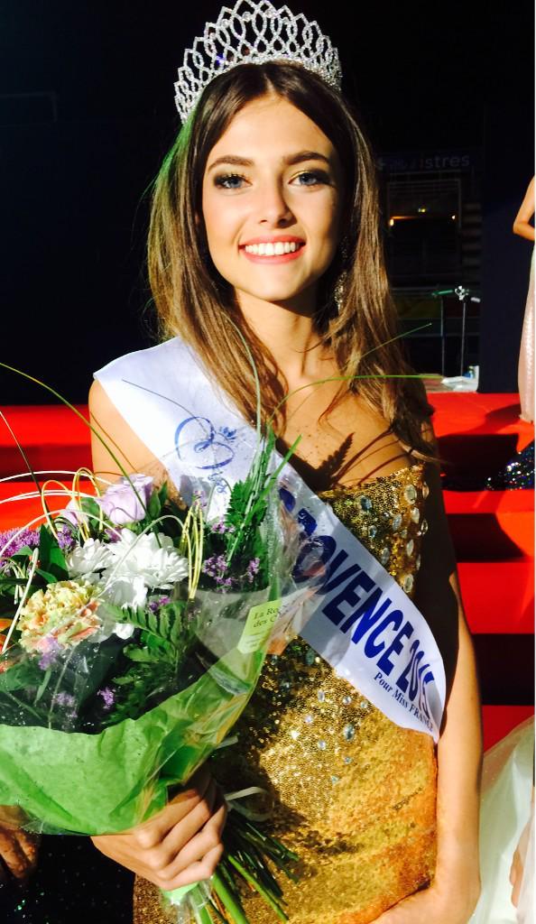 Julia Courtès, Miss Provence 2015, aura 18 ans en septembre.