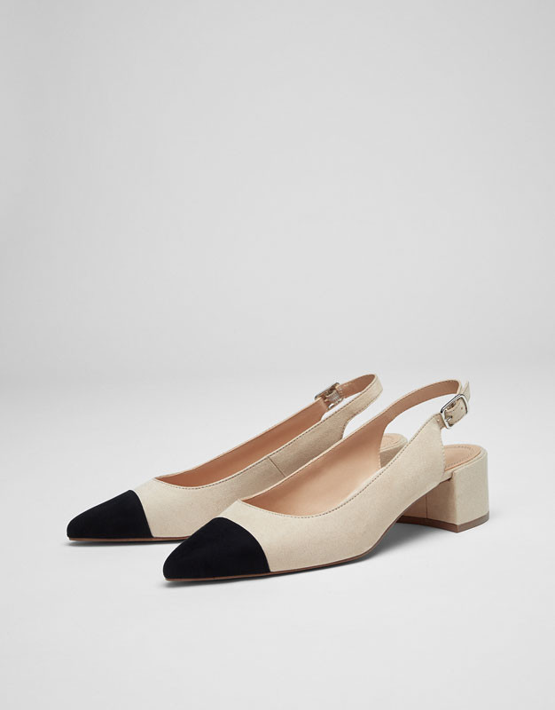 Escarpins Pull and Bear - 29,99 euros