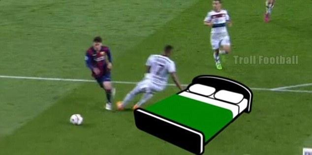 Le joueur allemand avait sans doute beaucoup trop donné sur le terrain