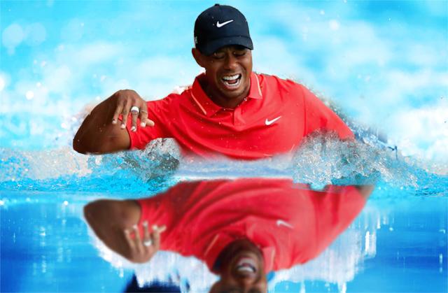 Du golf à la natation pour le champion