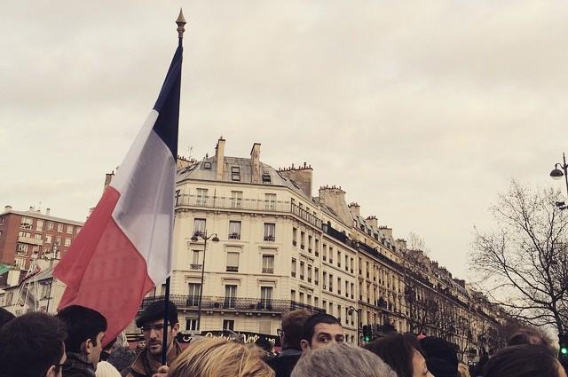 Énorme mobilisation à Paris
