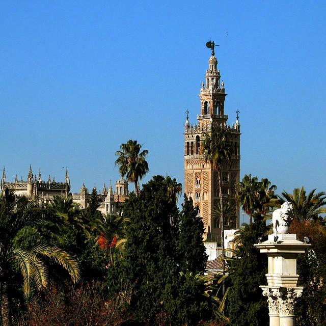 Séville, chaleur et architecture orientale.
