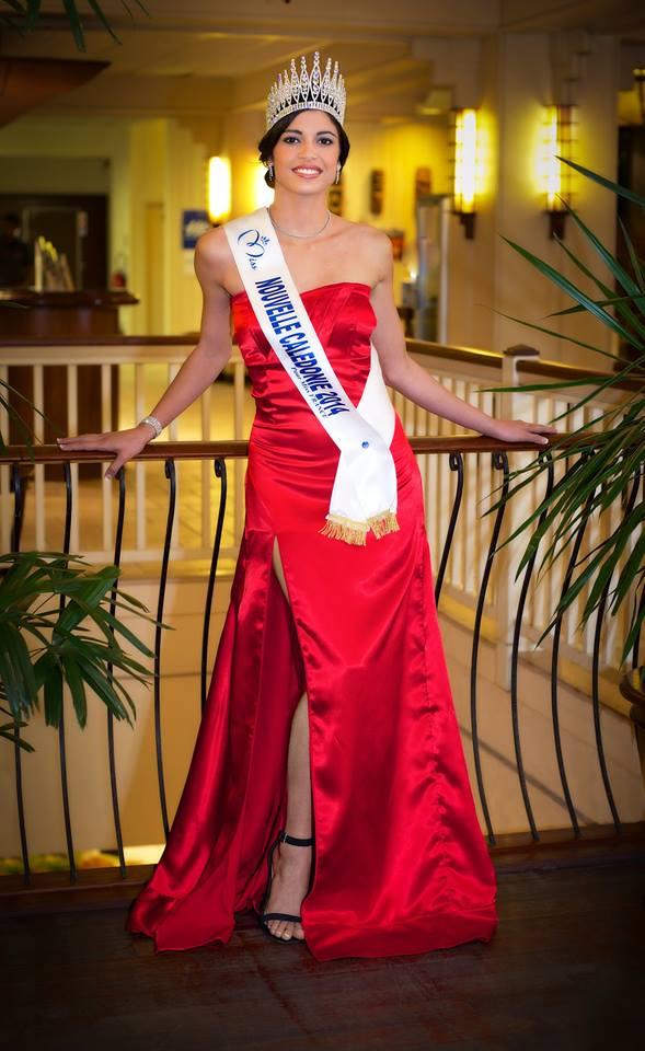 Miss Nouvelle-Calédonie, Mondy Laigle (19 ans), étudiante en Licence d'anglais