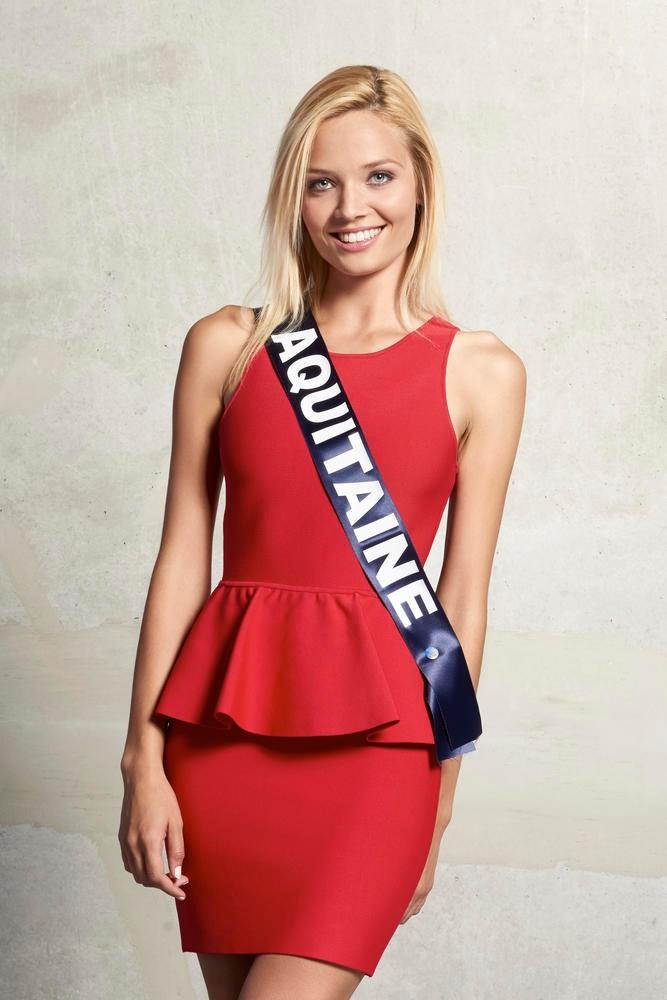 Miss Auquitaine, cinquième dauphine à Miss France 2016