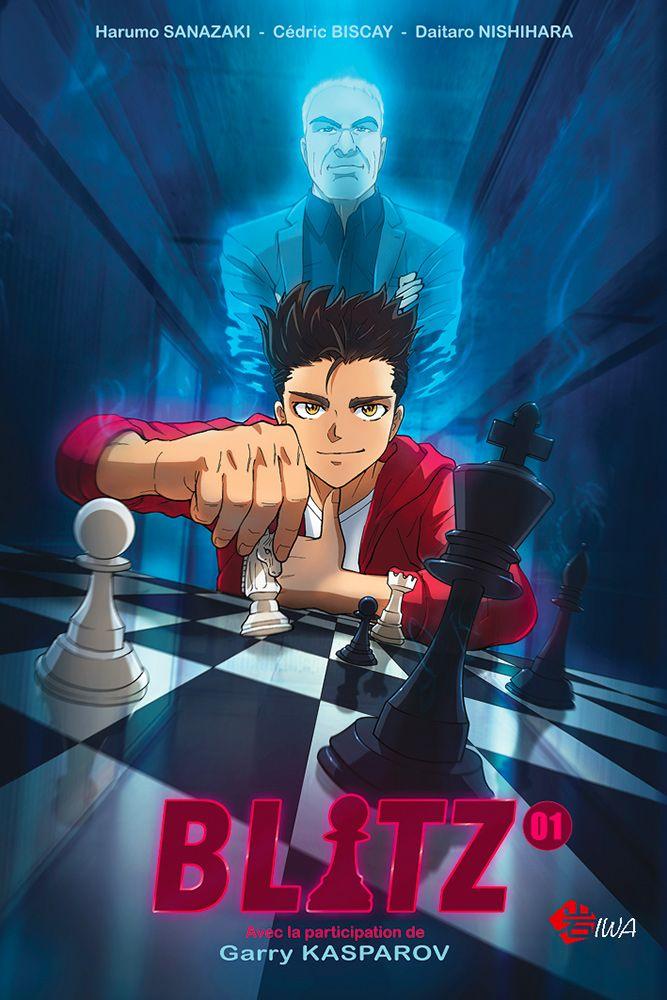 """Le manga """"Blitz"""" bénéficie des conseils du grand Garry Kasparov"""