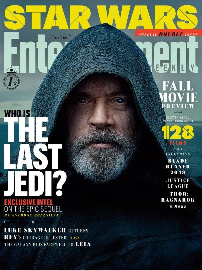 """La couverture d'""""Entertainment Weekly"""" avec Mark Hamill"""