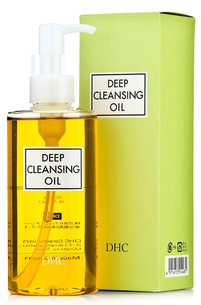 Deep Cleaning Oil, DHC, 13 euros les 70 ml