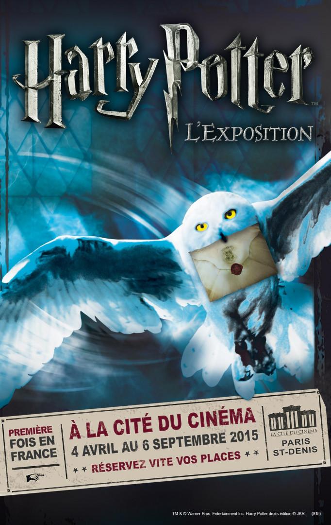 L'affiche de l'exposition Harry Potter