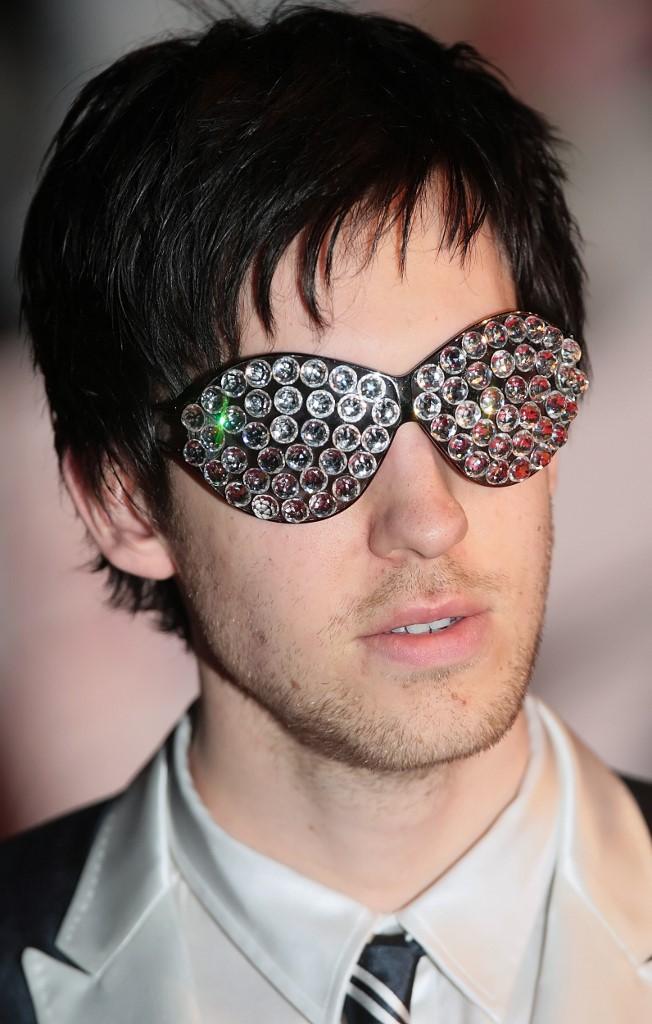 Calvin Harris lors de son arrivée sur le tapis rouge des Brit Awards de 2009.