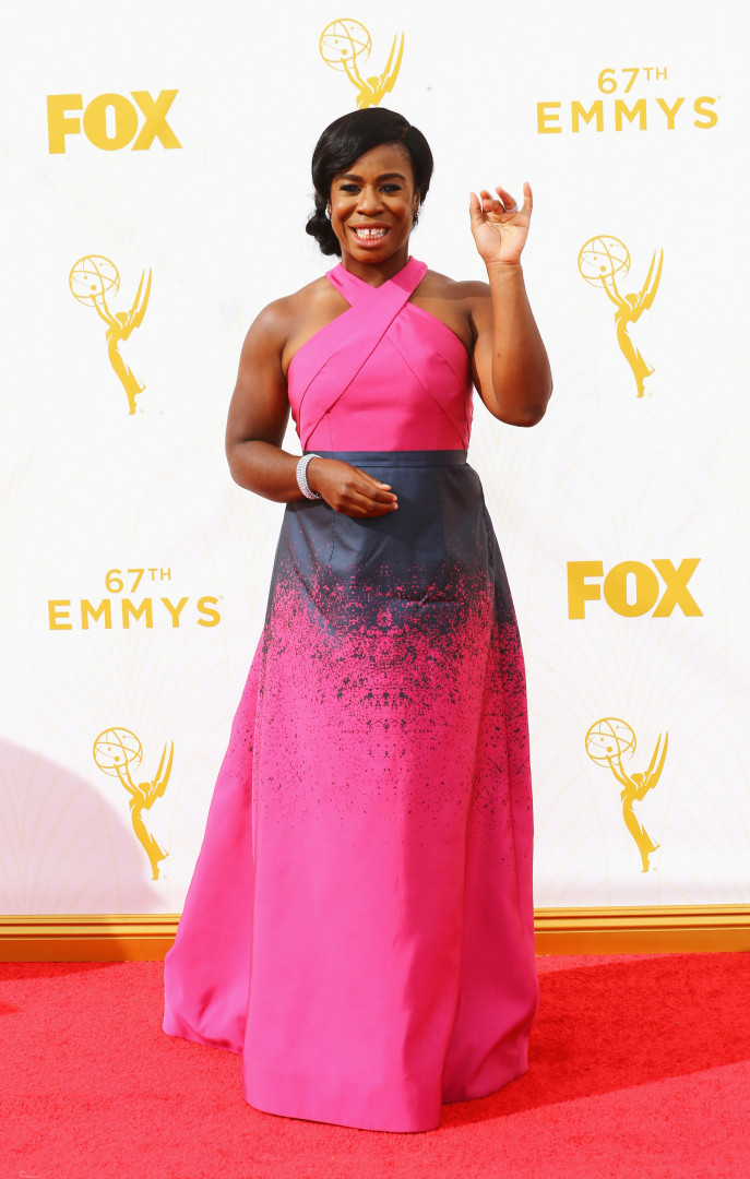 "Uzo Aduba est Crazy Eyes, dans la série télévisée ""Orange Is The New Black"""