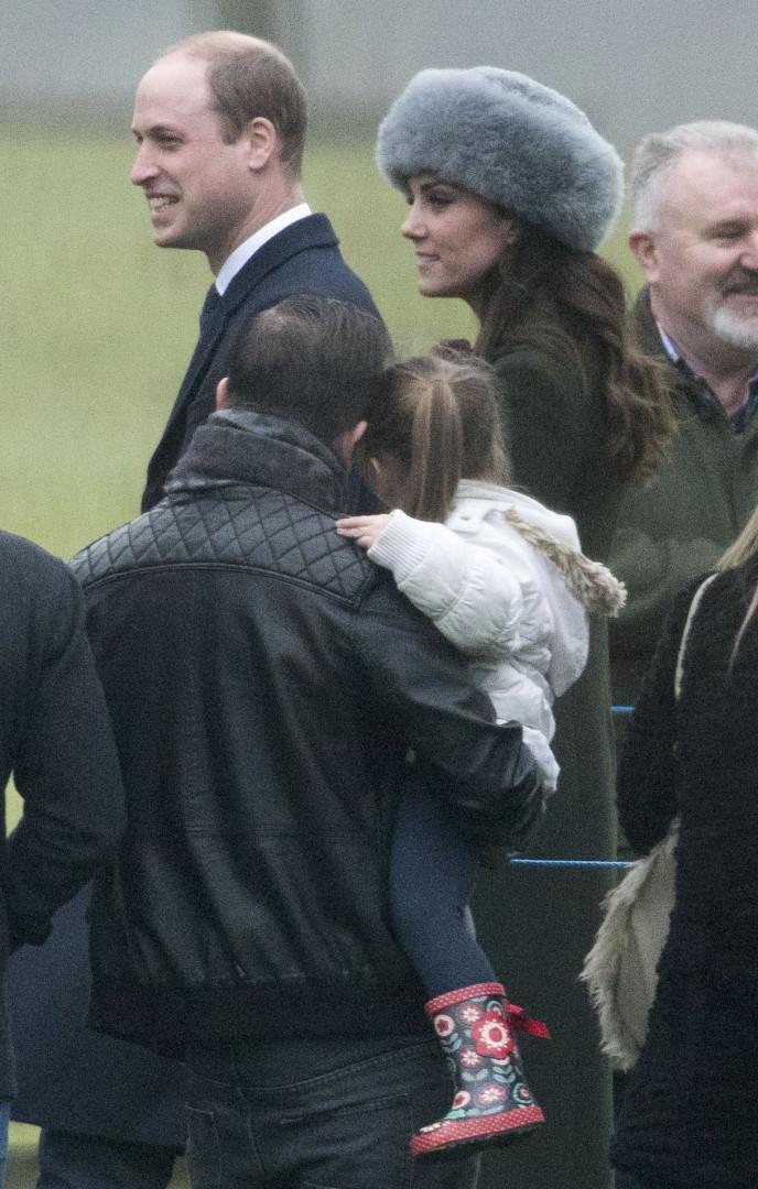 Kate Middleton et le prince William étaient également présents à la messe