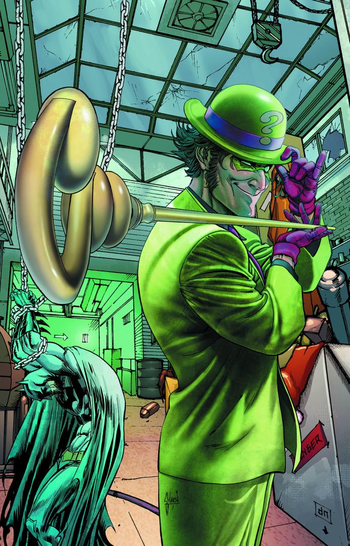 """L'Homme-Mystère dans les comics """"Batman"""""""