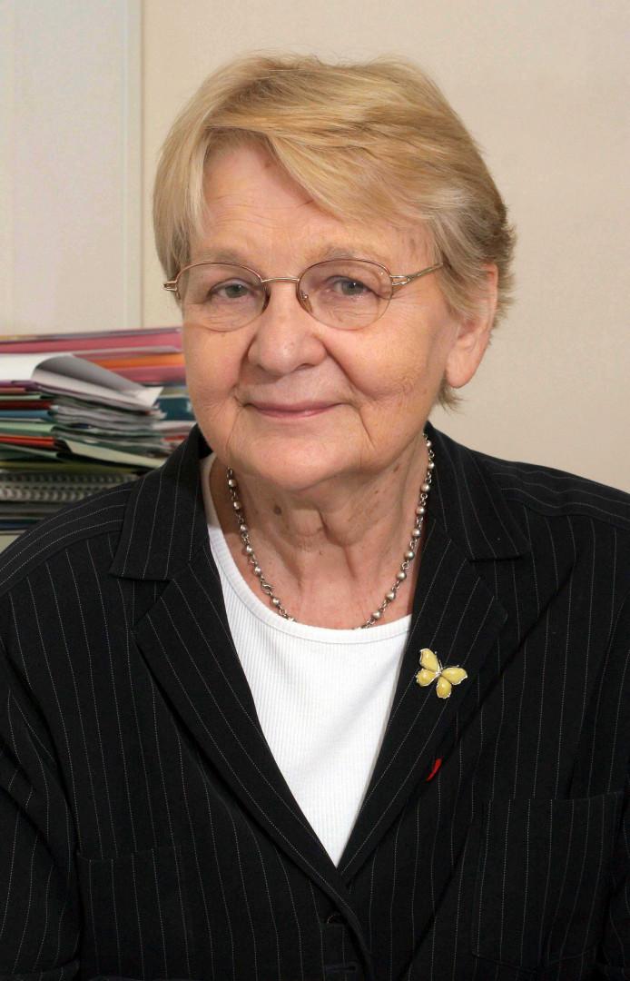 Maria Nowak, économiste, qui a fondé en 1989 l'Adie, la principale et plus ancienne association de micro-crédit.