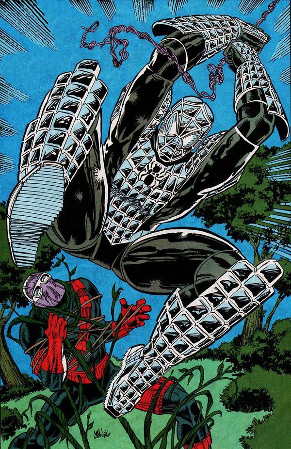 1993 - La Spider-Armure contre les Envahisseurs
