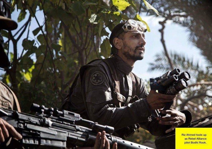 L'acteur Riz Ahmed apprend à manier les outils de l'Alliance Rebelle