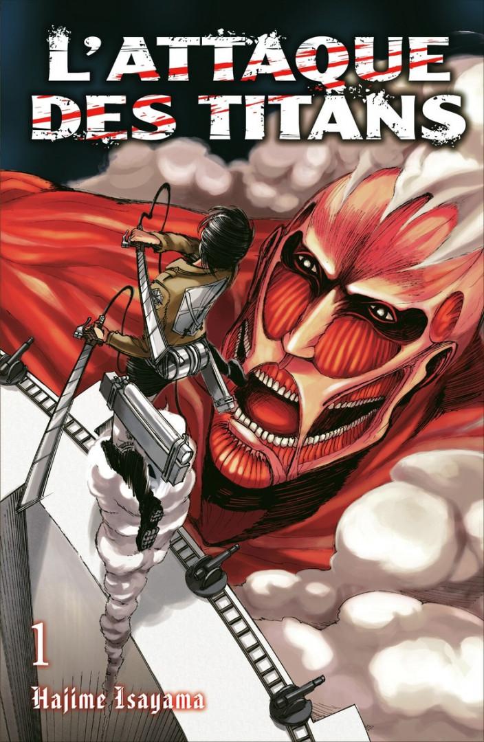 """La série de manga """"L'attaque des titans"""" et la série animé du même nom sont des valeurs sûres (6 €/tome)"""