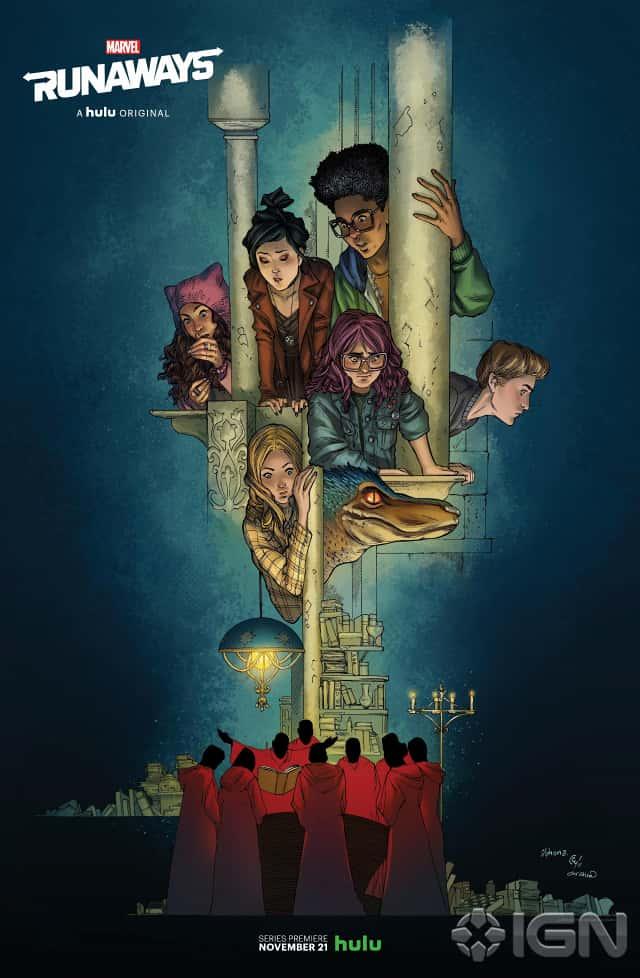"""""""The Runaways"""" mettra en scène de jeunes héros aux super-pouvoirs"""