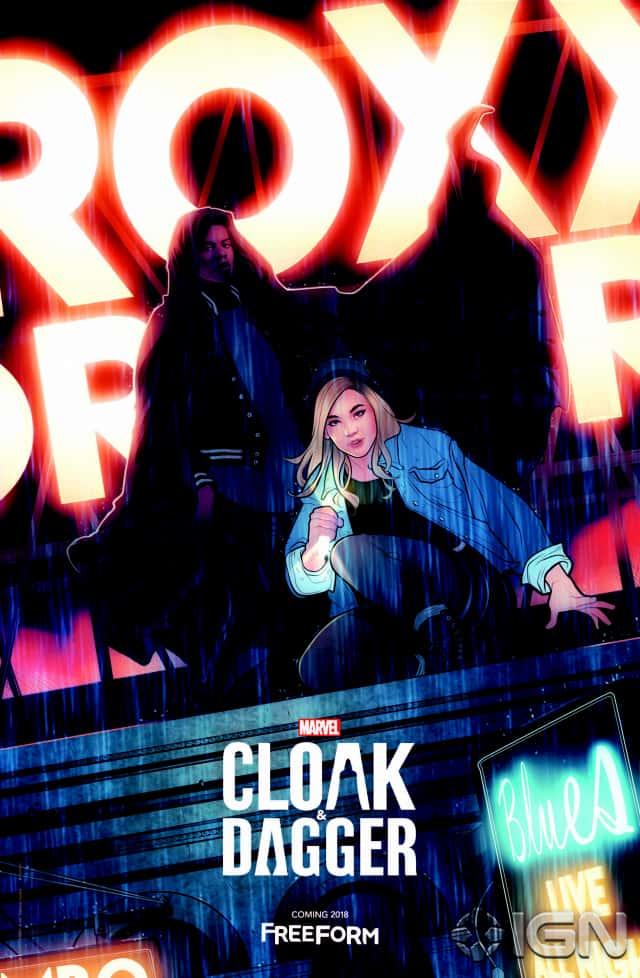 """""""Cloak and Dagger"""" avec ses deux héros charismatiques"""