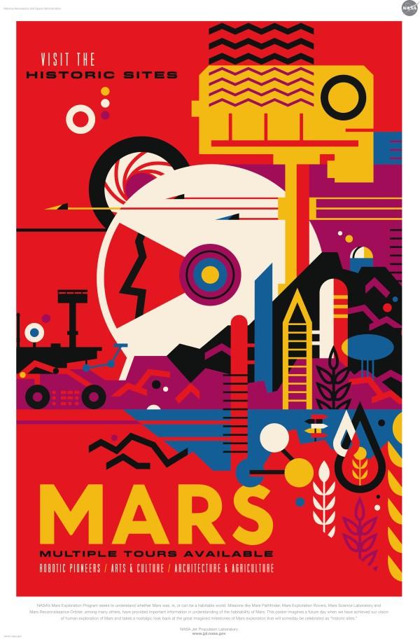 Les explorations sur Mars de la NASA ont pour but de comprendre si la planète a été, ou pourrait être, un monde habitable par l'Homme.