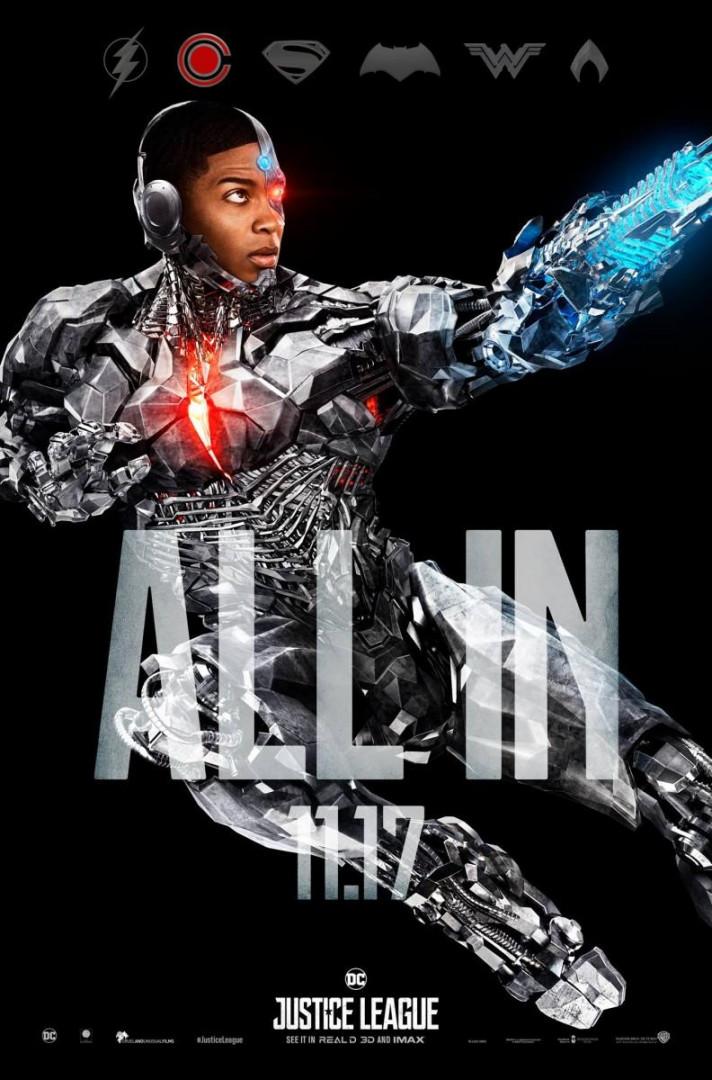 Cyborg serait le vrai héros du film, grâce à son armure