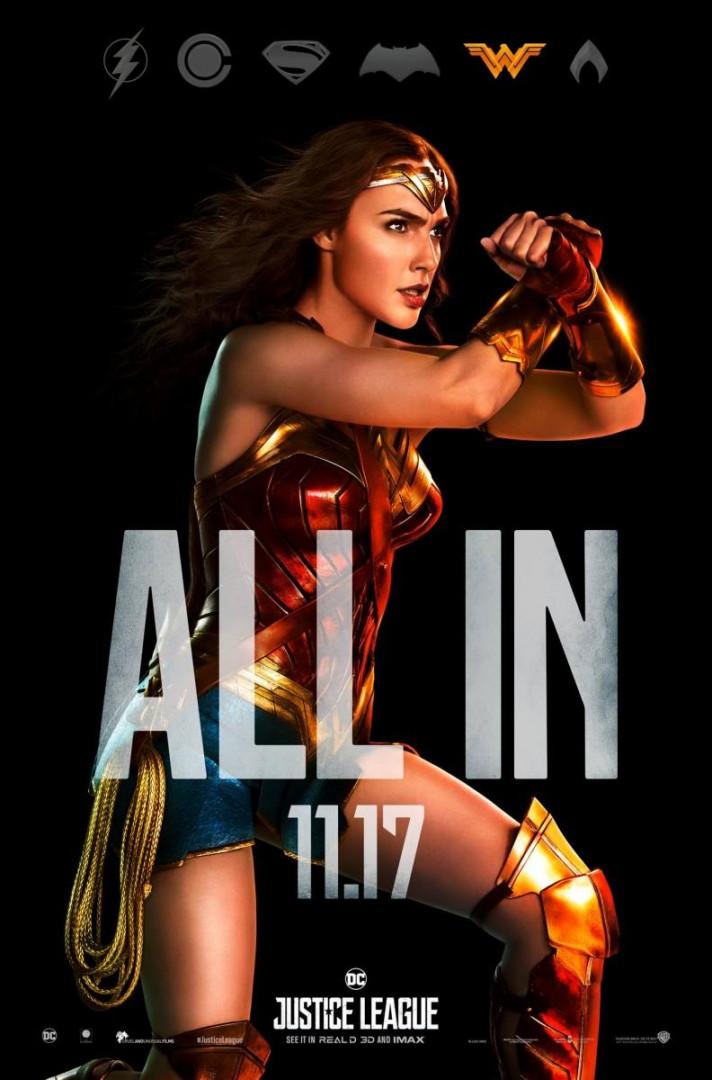 Wonder Woman est la seule femme de la Justice League