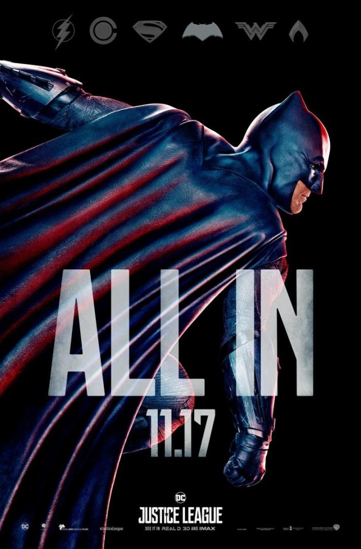Batman, leader de la Justice League avec Wonder Woman