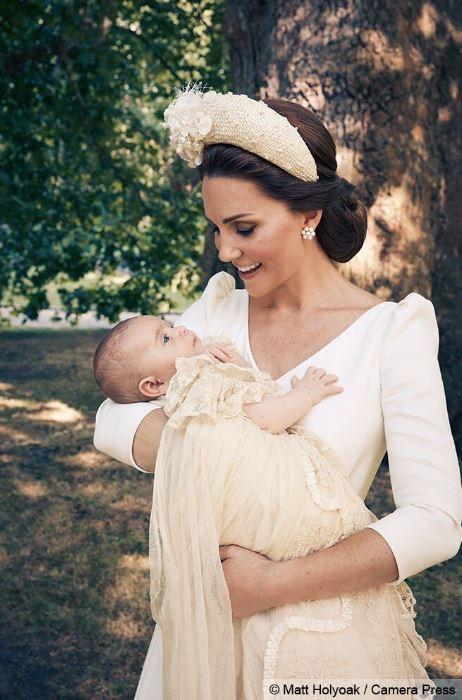 Le prince Louis et sa mère, Kate Middleton