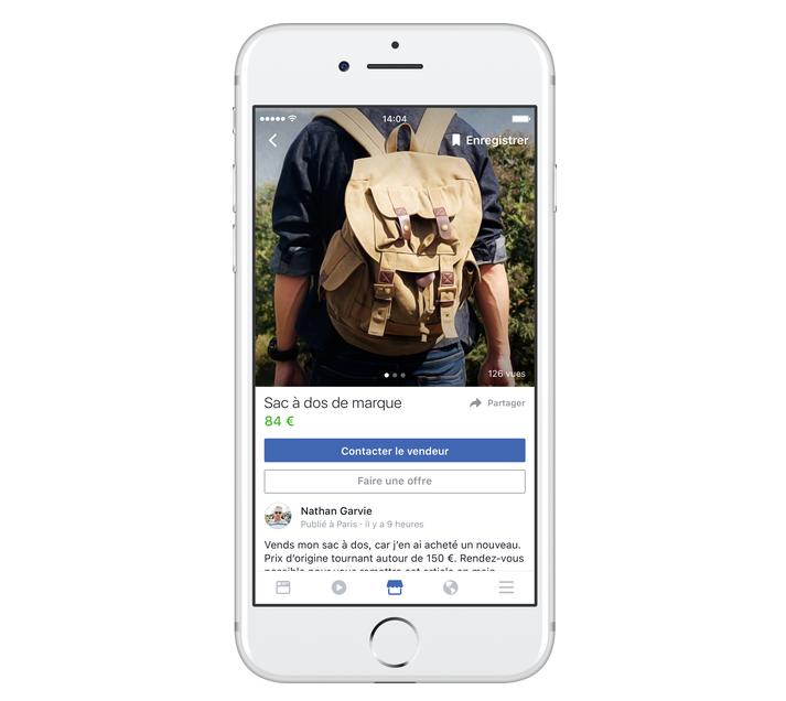 Avec Marketplace, Facebook cherche à concurrencer Le Bon Coin