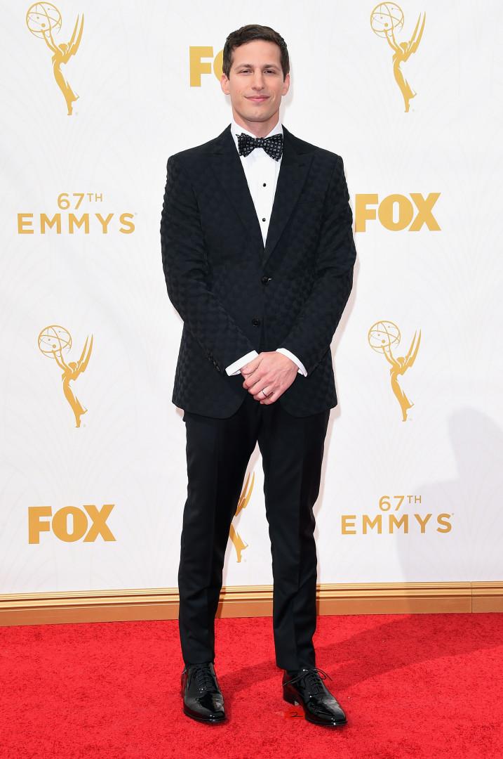 L'humoriste américain Andy Samberg est l'hôte de cette 67ème édition des Emmy Awards