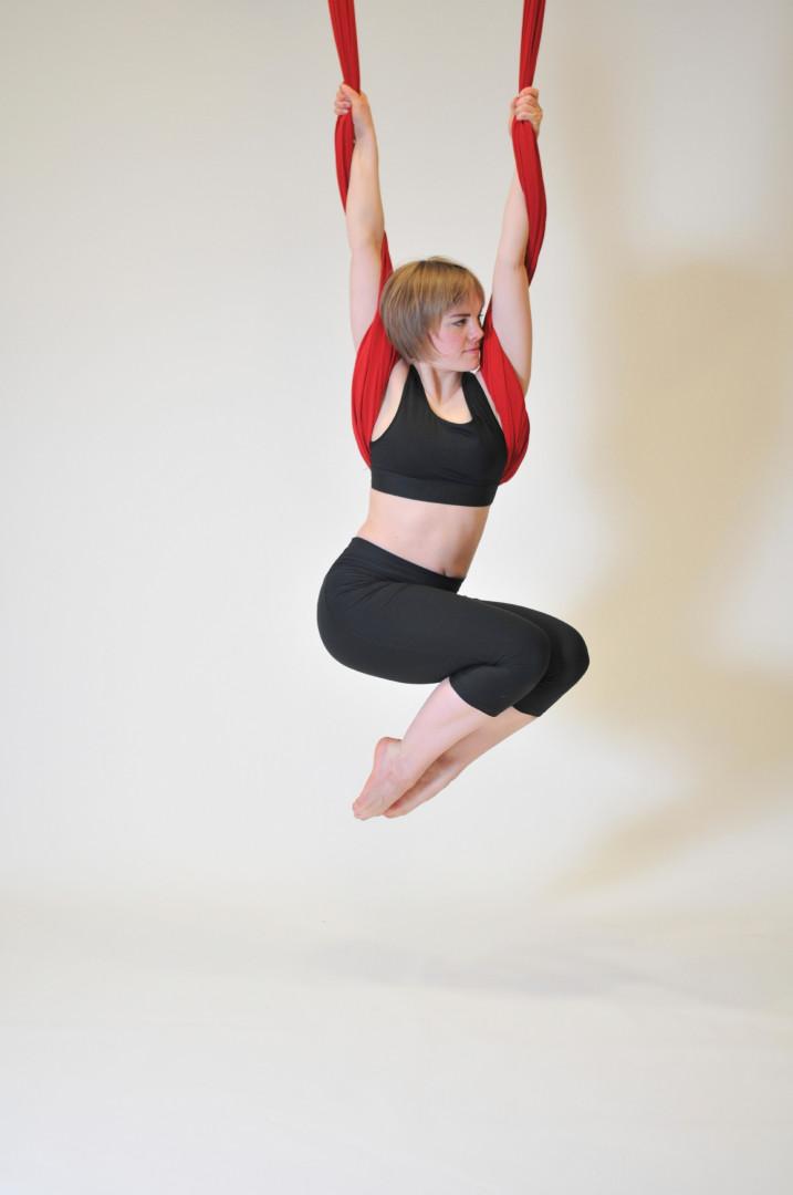 Le fly yoga en apesanteur