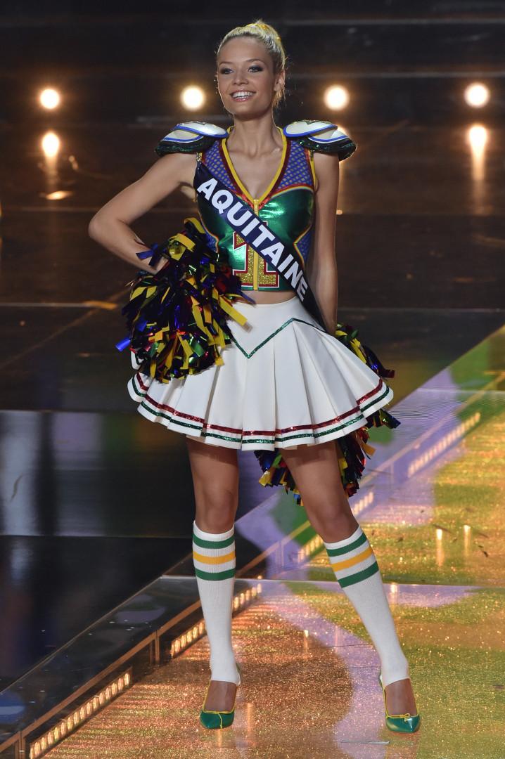 Miss Aquitaine, cinquième dauphine à Miss France 2016