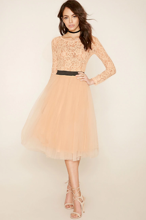 Robe nude - Forever 21 (77,00€)