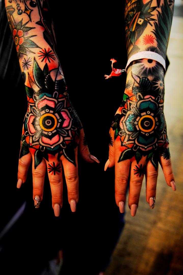 Certains tatouages sont de véritables œuvres artistiques